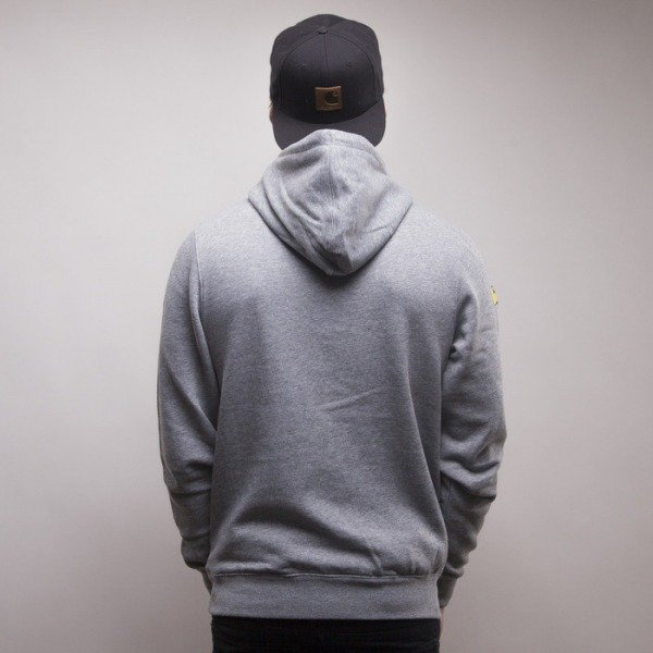 Cayler & Sons bluza Word Up hoody grey heather / mc