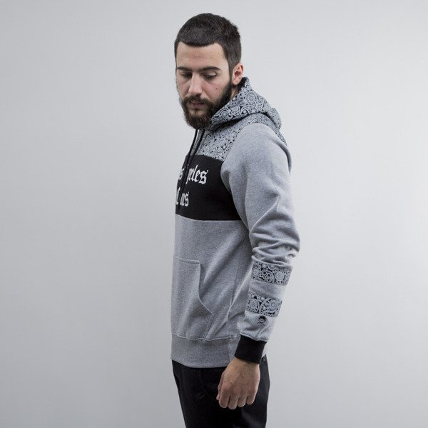 Cayler & Sons bluza hoody Crimes grey heather / black / white (CAY-SU15-AP-01)