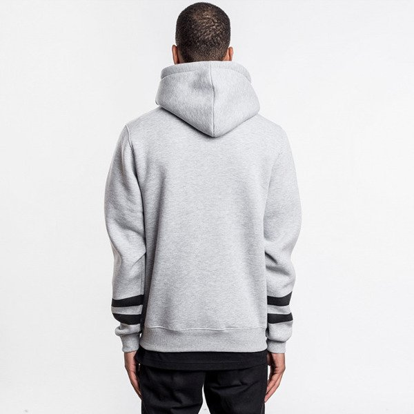 Cayler & Sons bluza sweatshirt Defend Hoody grey - heather / black / white GL-CAY-AW16-AP-03