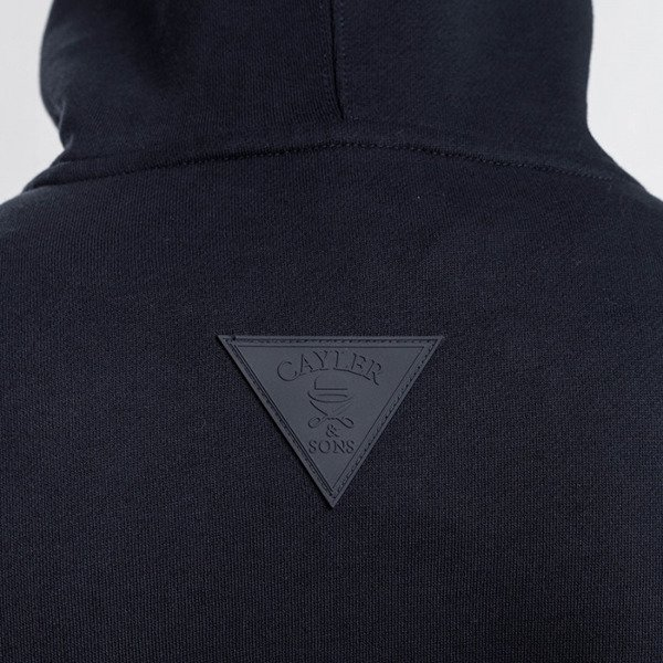 Cayler & Sons bluza sweatshirt Grime Hoody navy / white WL-CAY-AW16-AP-07