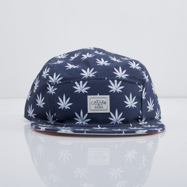 Cayler & Sons czapka 5-panel Budz n Stripes deep navy/white/red
