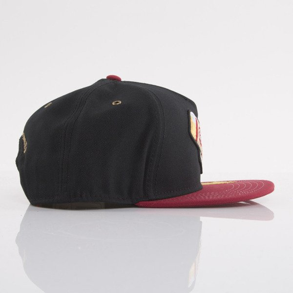 Cayler & Sons czapka snapback 40 OZ black / red / yellow (WL-CAY-AW15-17-OS)