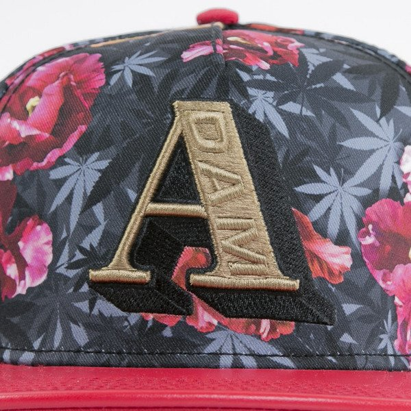 Cayler & Sons czapka snapback A-Dam tulip camo / red / gold (GL-CAY-AW15-20-OS)
