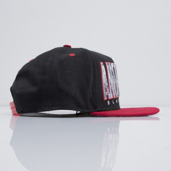 Cayler & Sons czapka snapback Blazin City black / red / smoke (CAY-SS15-49-01)