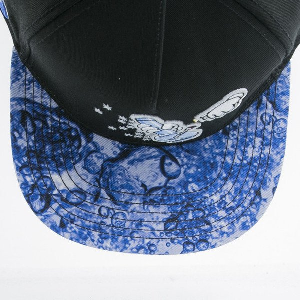Cayler & Sons czapka snapback Bubbles and Bongs black / blue bubbles(GL-CAY-AW15-01-OS)