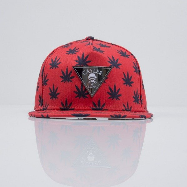 Cayler & Sons czapka snapback Budz n Stripes 2-Tone red / navy (CAY-SS15-02-03)