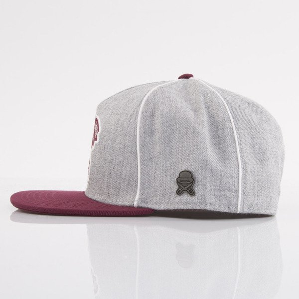 Cayler & Sons czapka snapback Business grey / maroon / white (CL-CAY-AW15-02-OS)