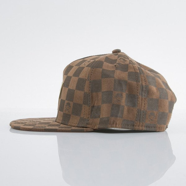 Cayler & Sons czapka snapback Checkers brown / gold (GLD-CAY-AW15-01-OS)