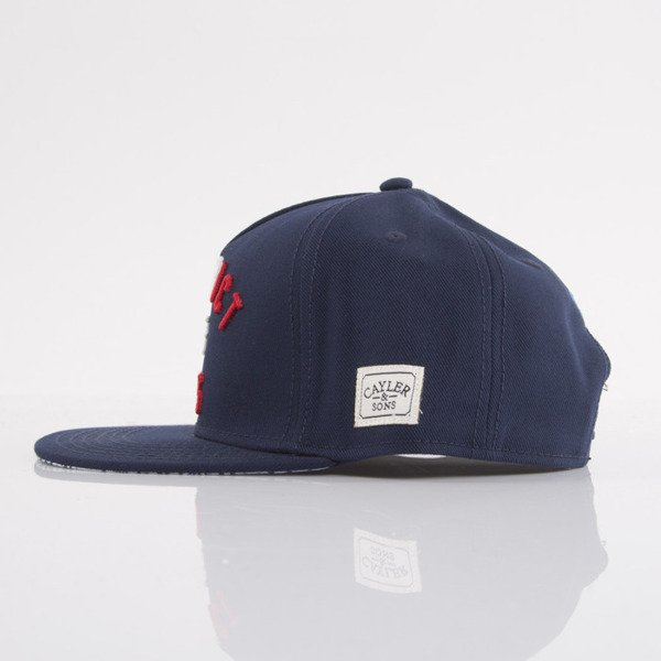 Cayler & Sons czapka snapback District of Paris navy / red / white (WL-CAY-AW15-03-OS)
