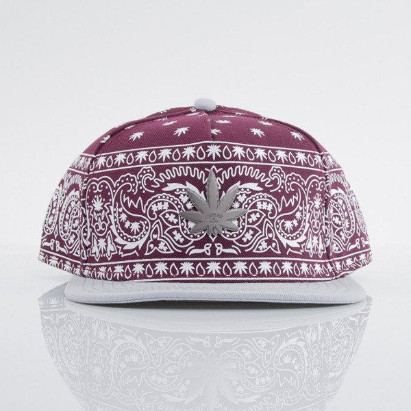 Cayler & Sons czapka snapback Hazely maroon / white / gold (GL-CAY-AW15-24-04-OS)