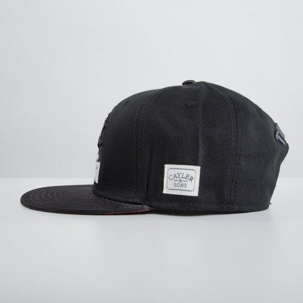 Cayler & Sons czapka snapback Head of the Family black WL-CAY-HD15-01