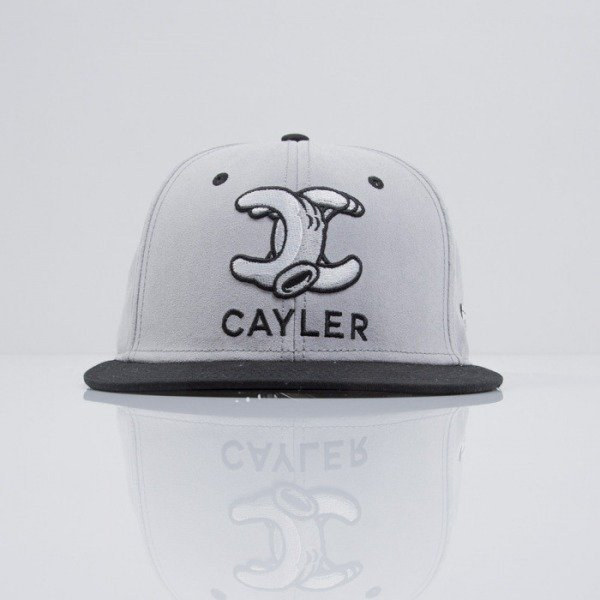 Cayler & Sons czapka snapback No.1 grey suede / black / white (CAY-SS15-16-01)