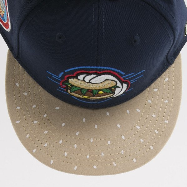 Cayler & Sons czapka snapback Royal Smoke navy / mc (GL-CAY-AW15-08-OS)