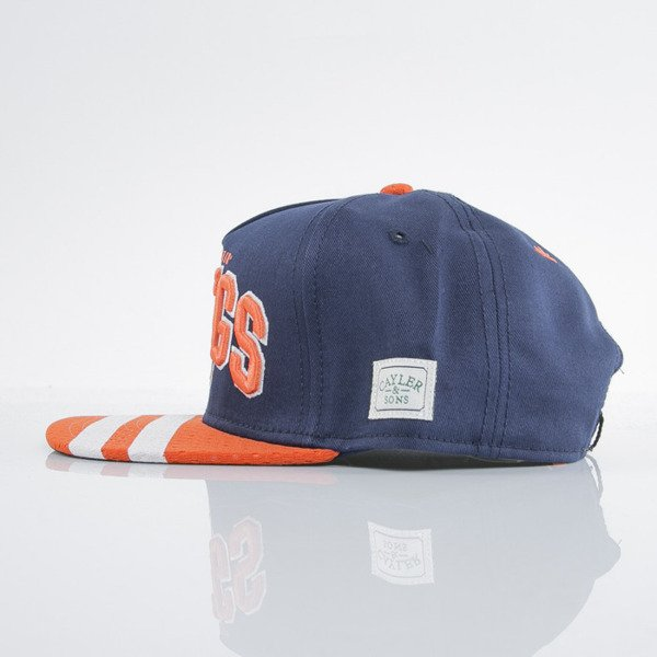 Cayler & Sons czapka snapback Stony Pop navy / orange / white (GL-CAY-AW15-03-OS)