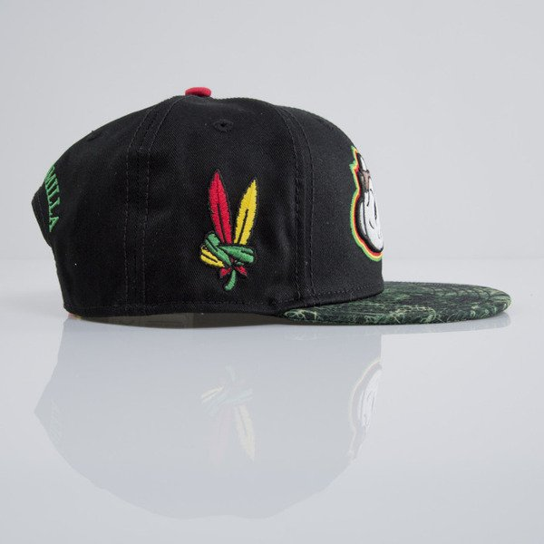 Cayler & Sons czapka snapback Sweat Sensi black / green mc / mc  (CAY-SU15-17-OS)