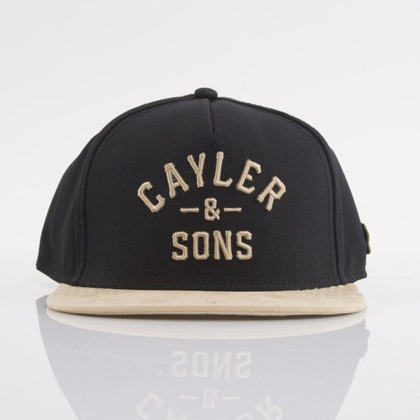 Cayler & Sons czapka snapback Tradition black / gold (CL-CAY-AW15-05-OS)