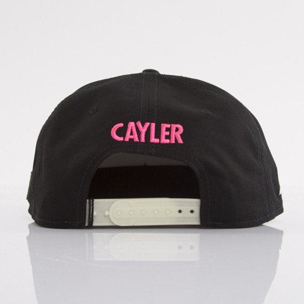 Cayler & Sons czapka snapback Walks With Me black / glow in the dark / pink (WL-CAY-AW15-27-OS)
