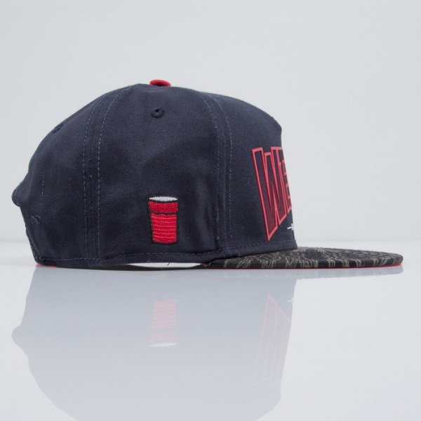 Cayler & Sons czapka snapback Weezy Does It navy / tiger camo / red (CAY-SS15-45-01)