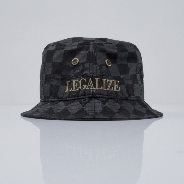 Cayler & Sons kapelusz bucket Legalize It black / gold (CAY-SS15-17-01)