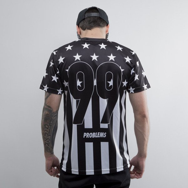 Cayler & Sons koszulka 99 FCKN Problems Soccer Jersey black / white (CAY-SU15-AP-02)