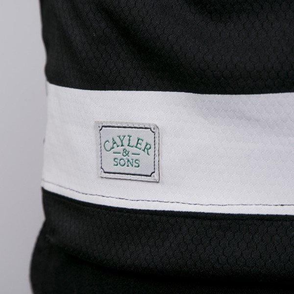 Cayler & Sons koszulka United We Stand Soccer Jersey black / white (GL-CAY-AW15-AP-19-02)