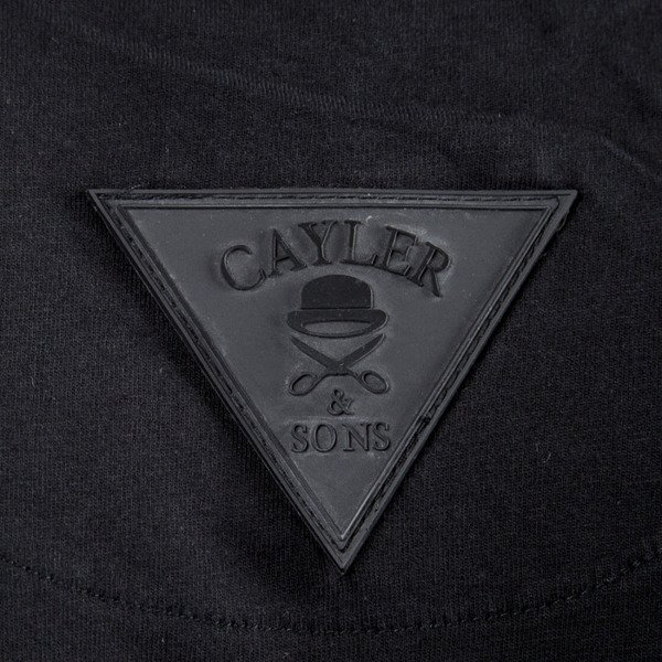 Cayler & Sons koszulka t-shirt Money To Blow Long Tee black / silver / white WL-CAY-SU16-AP-12