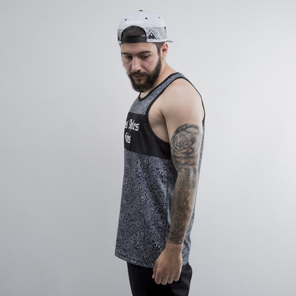 Cayler & Sons koszulka tank top Crimes Mesh paisley /white / black (CAY-SU15-AP-06)