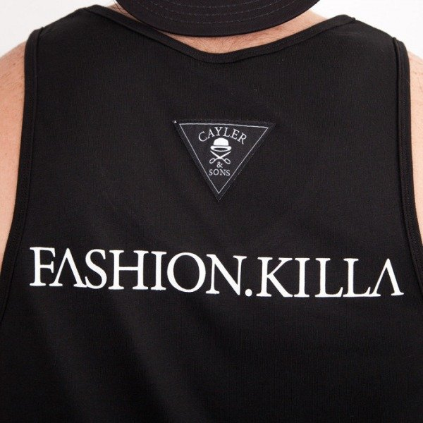 Cayler & Sons koszulka tank top Fashion Killa black/white