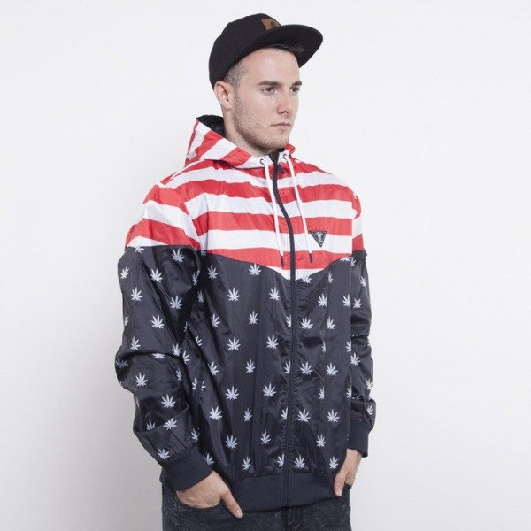 Cayler & Sons kurtka V$A deep navy / red / white