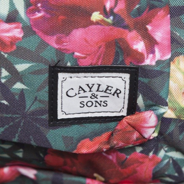 Cayler & Sons plecak A-Dam Downtown tulip camo / red stripes