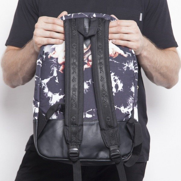 Cayler & Sons plecak Pray Uptown black / white / putti