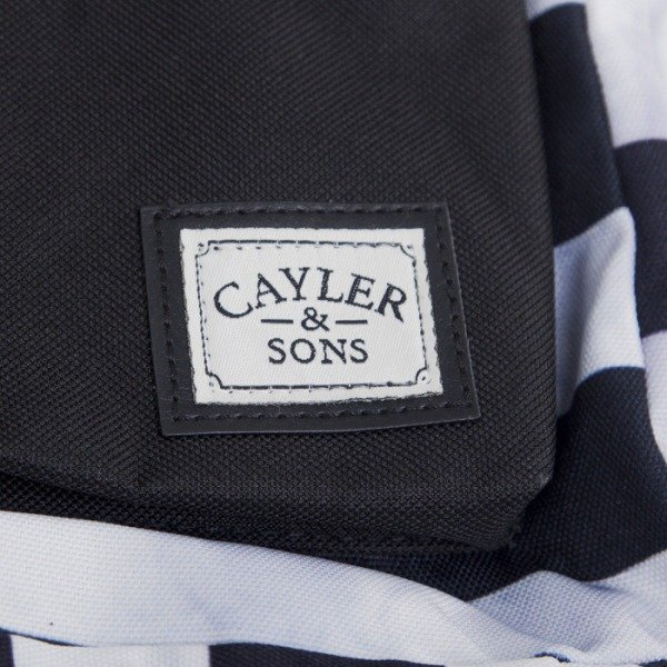 Cayler & Sons plecak Problems Downtown black/white HD14-BP-02