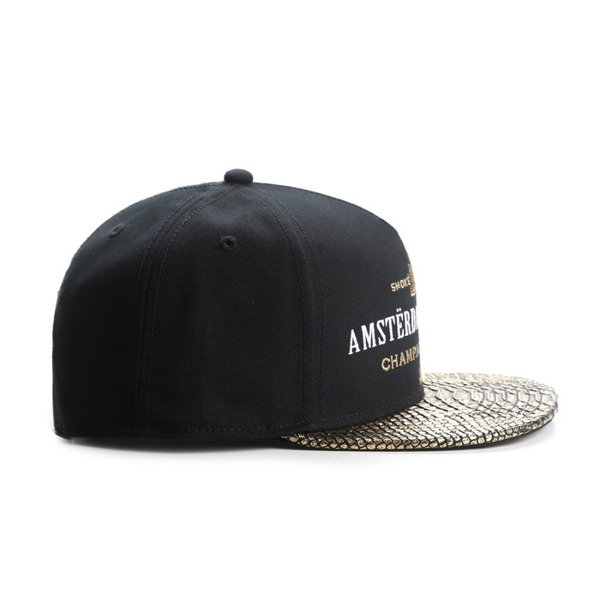 Cayler & Sons snapback czapka A Dam's Finest Cap black / gold / white GL-CAY-AW16-02