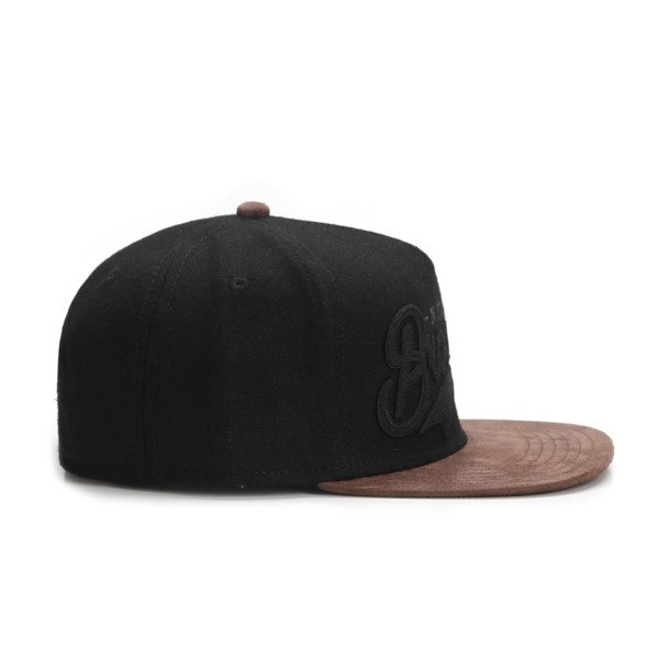 Cayler & Sons snapback czapka BK Fastball Cap black / brown CL-CAY-AW16-01-02