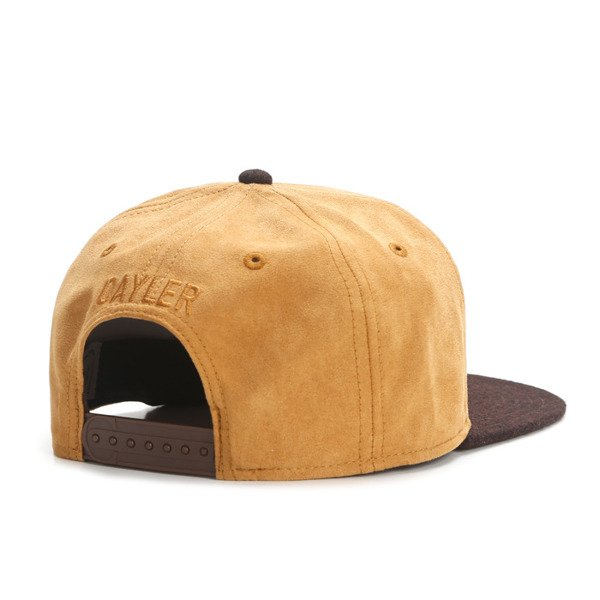 Cayler & Sons snapback czapka Cali Love Cap honey suede / brown WL-CAY-AW16-05