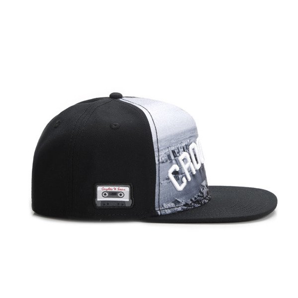 Cayler & Sons snapback czapka Crooklyn Skyline Cap black / white WL-CAY-AW16-08
