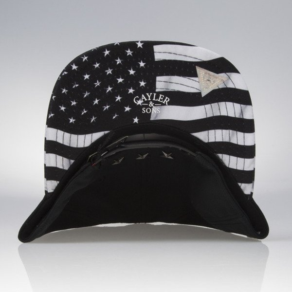 Cayler & Sons snapback czapka F**kin Problems Classic Cap black / white CLASSIC-CAY-SU16-04