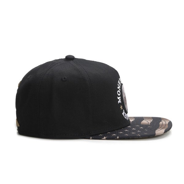 Cayler & Sons snapback czapka Money Power Respect Cap black / gold / white WL-CAY-AW16-28