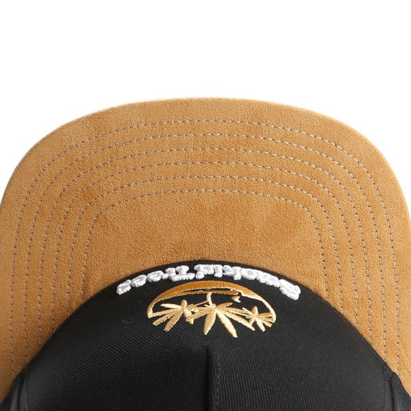 Cayler & Sons snapback czapka Smokin' Trees Cap black / honey / white GL-CAY-AW16-05