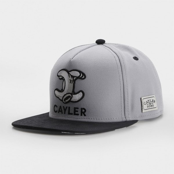 Cayler & Sons snapback czapka Still No.1 Classic Cap grey / black / white CLASSIC-CAY-AW-16-01