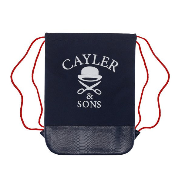 Cayler & Sons worek Crooklyn Skyline Gymbag navy / red / mc WL-CAY-AW16-GB-01