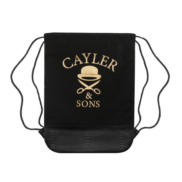 Cayler & Sons worek Money Power Respect Gymbag black / gold / white WL-CAY-AW16-GB-03