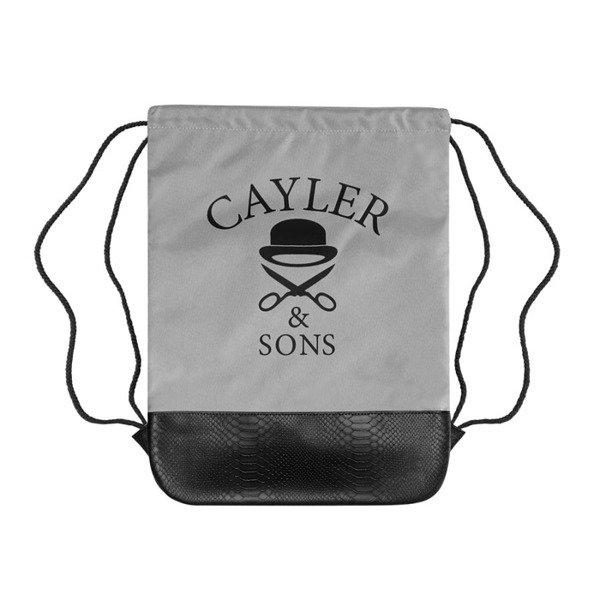 Cayler & Sons worek Money To Blow Gymbag grey / black / silver WL-CAY-SU16-GB-07