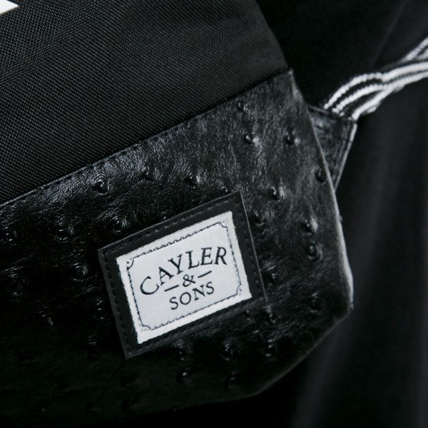Cayler & Sons worek No. 1 black / white (WL-CAY-AW15-GB-08-OS)
