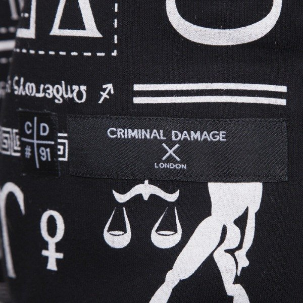 Criminal Damage bluza Scorpion Long black