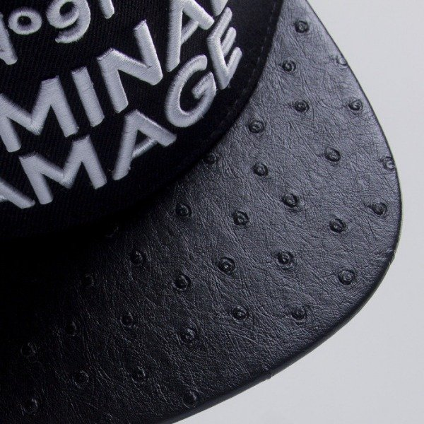 Criminal Damage czapka snapback NO91 black