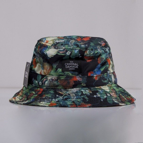 Criminal Damage kapelusz bucket hat Cruz multi