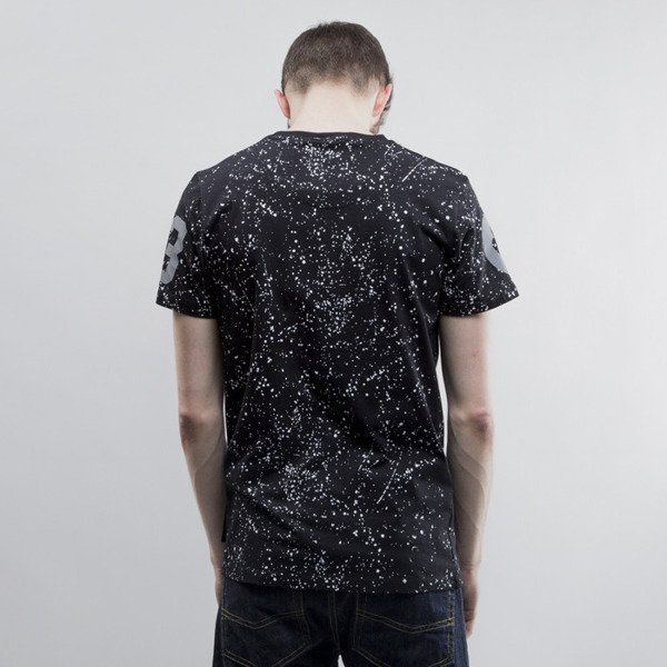 Criminal Damage koszulka Splatter Reflective black