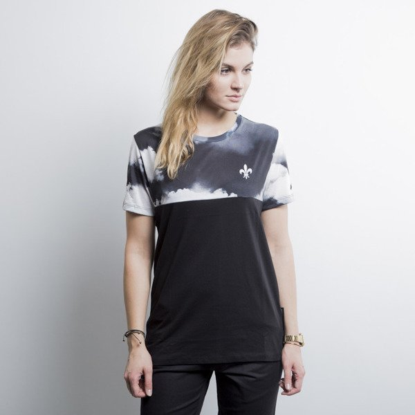 Criminal Damage koszulka t-shirt High black / white WMNS