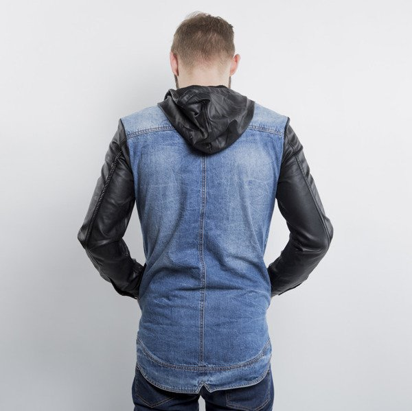 Criminal Damage kurtka Trust Denim Jacket blue / black